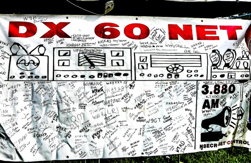 Jeff, KA9TOC, used to bring this to hamfests for people to sign.