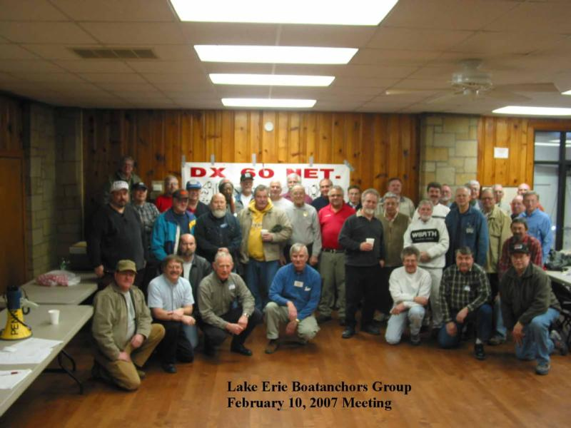 Mike @ Lake Erie Boatanchors Group, 2/10/2007 ( Sumitted by Jeff, WA8SAJ)