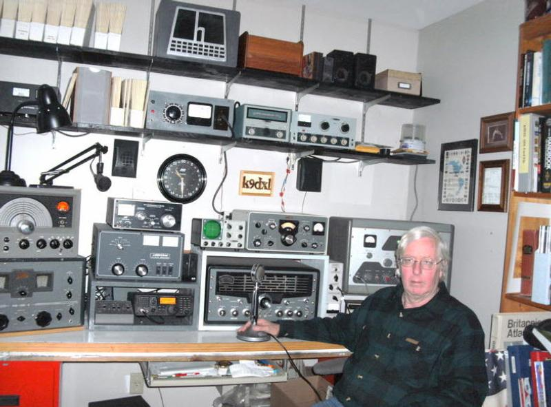 Jim checked into the 10/4/2020 net with the DX-60 and the Hallicrafters SX-101 Mk 3.