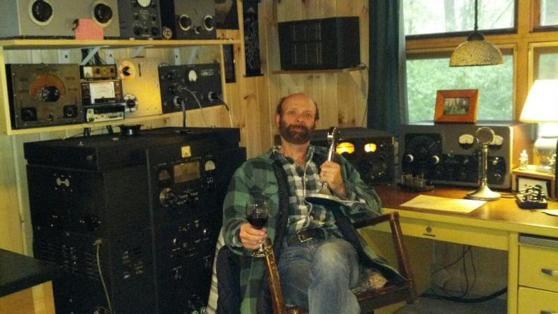 Steve is our Net Control, running homebrew TX with a pair of Taylor T-200's in PP made in 1938